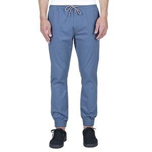 Men's Jogger Pants in Grey/Blue